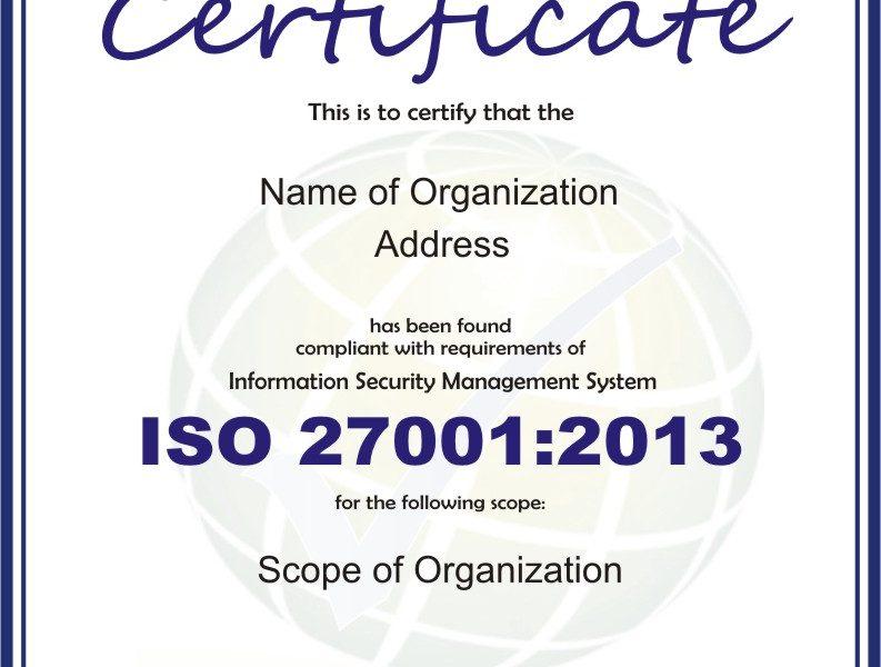 Documentos obligatorios exigidos por la norma ISO 27001