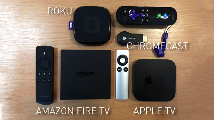 Apple TV, Chromecast, Roku, Amazón Fire TV ¿Cuál Elegir?